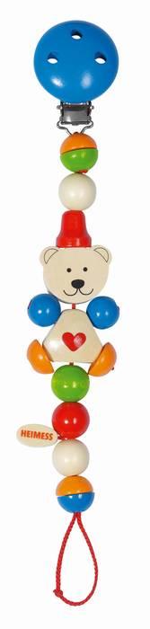 שרשרת למוצץ-דובי עם לב HEIMESS