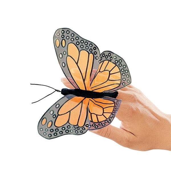 פרפר מלכותי    2156    butterfly   puppet