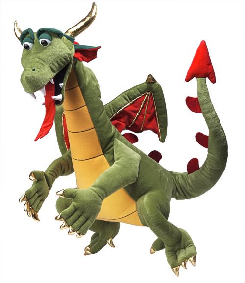 דרקון צמחוני בובת דרקון 0801