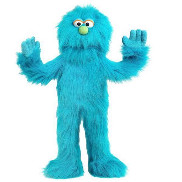 בובת מפלצת כחולה 2005A MONSTER PUPPET