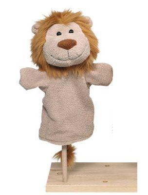 בובת אריה כף יד 1003