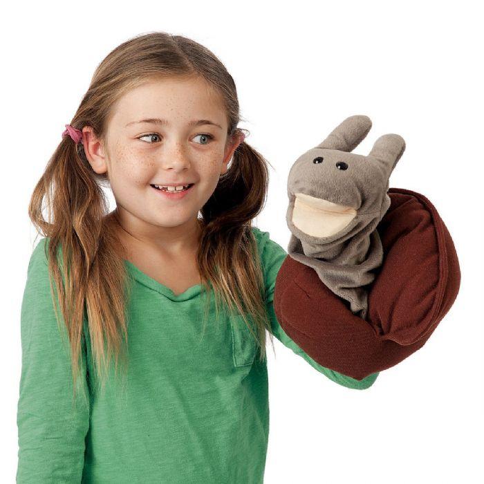 חלזון - שבלול - ברלה  snail puppet 2028