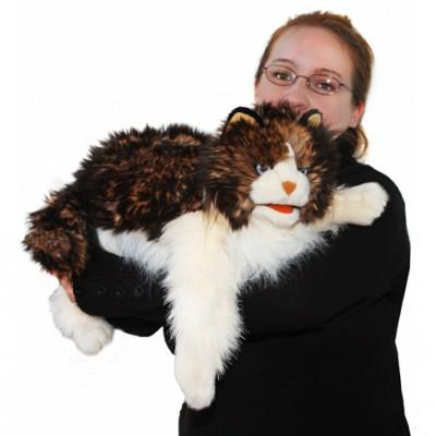 FOLKMANIS בובת חתול סמרטוטי 2558