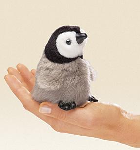 פינגווין קטנטן מלכותי - 2680  בובת אצבע