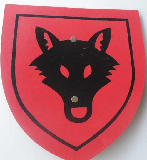 מגן קטן  זאב הערבות