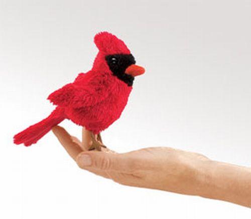 בובת אצבע ציפור קארדינל