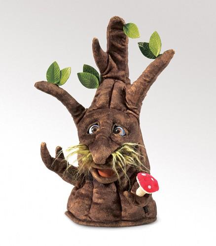 FOLKMANIS העץ המכושף- בובת כף יד 2950