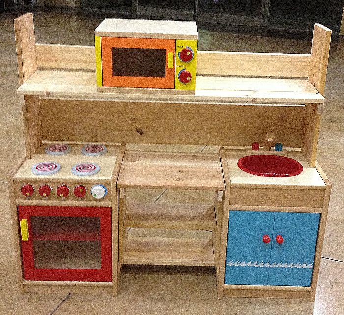 מדהים בובימה - צעצועי עץ - מטבח מעץ לילדים מסוג יולי JU-49