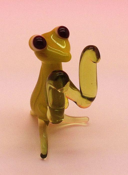 גמל שלמה- חיות קטנות מזכוכית