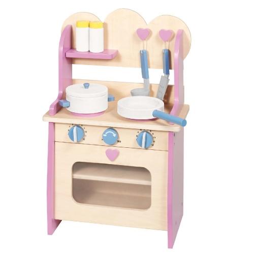 עדכון מעודכן בובימה - צעצועי עץ - מטבח מעץ לילדים כולל כלים MQ-09