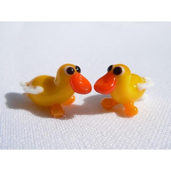 חיות זכוכית ברווז קטן