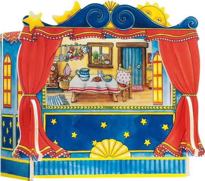 תיאטרון בובות שולחני קטן GOK