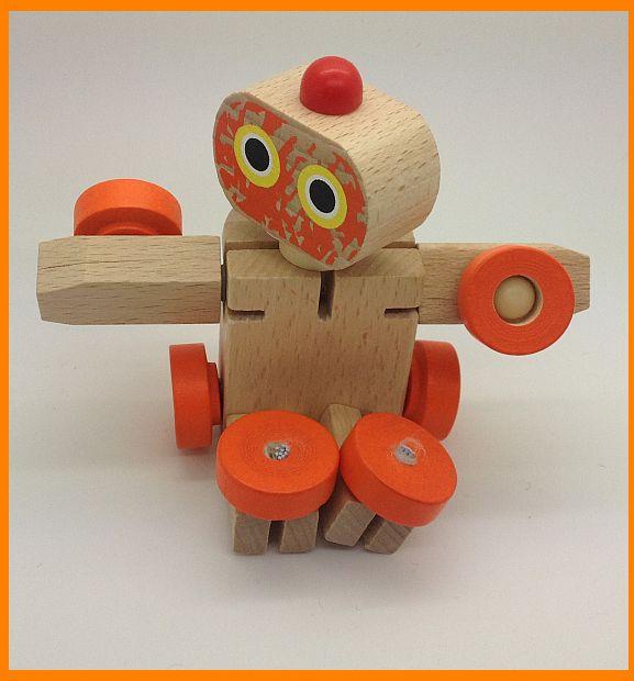 רובוט עץ הנהפך לכלי רכב 2