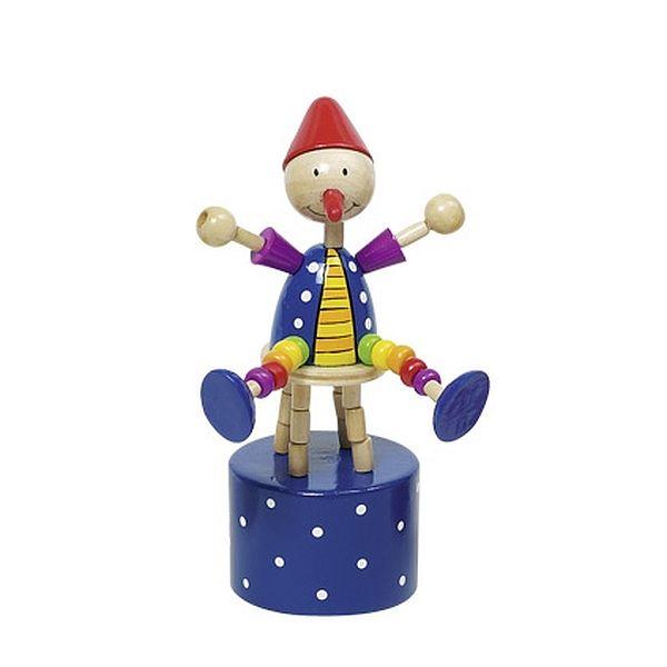 צעצועי עץ נופל וקם GOKI 53960B