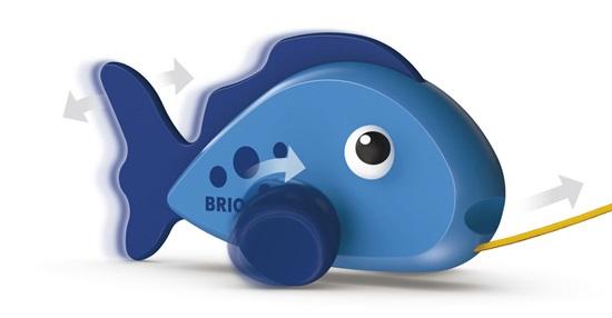דג נמשך BRIO