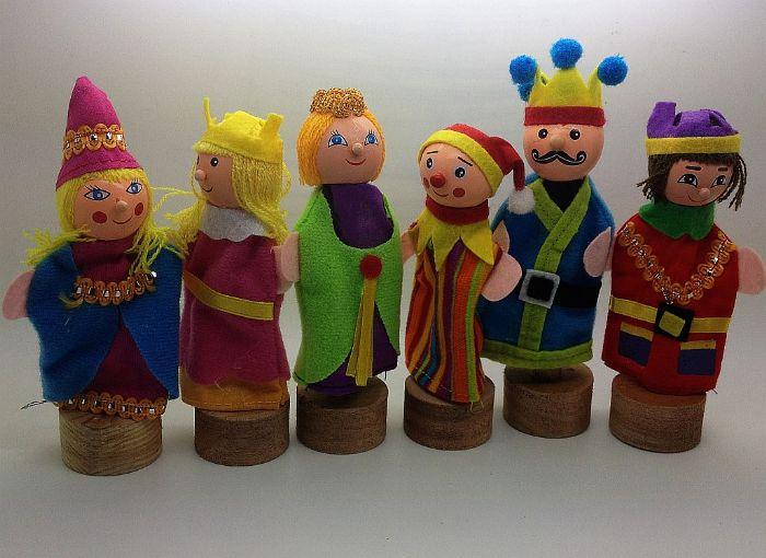 בובות אצבע משפחה מלכותית