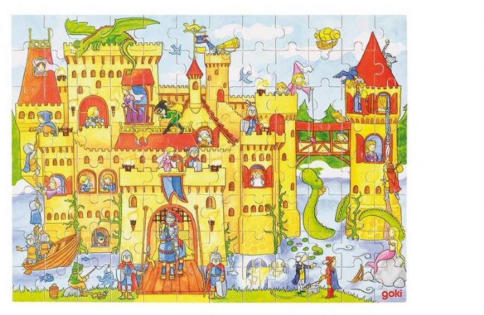 צעצועי עץ, פאזל ארמון מהאגדות GOKI