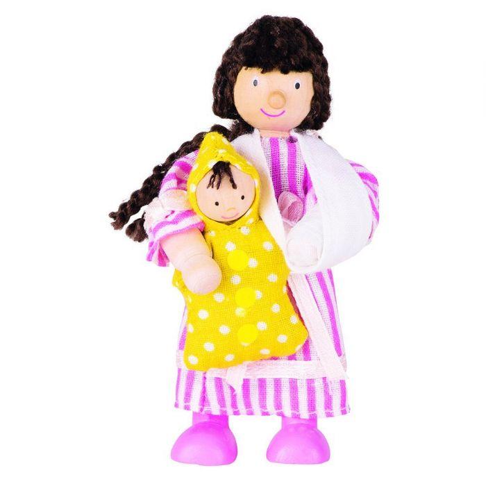 GOKI אנשים קטנים ילדה ותינוקת 51613