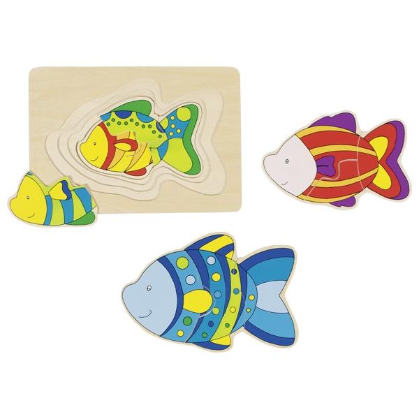 GOKI פאזל שכבות דג 57897