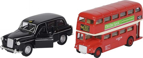 GOKI אוטובוס ומונית לונדונית 12213