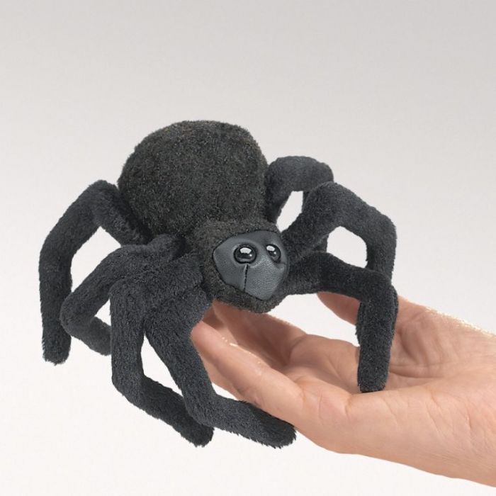 FOLKMANIS עכביש שחור בובת אצבע 2754