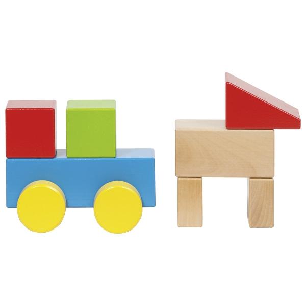GOKI לבני בנייה עם גלגלים 58883