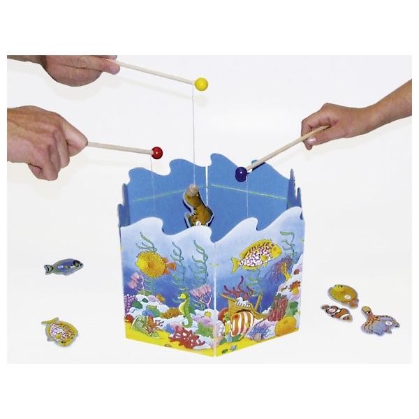 GOKI משחק מגנט לדוג דגים 56884