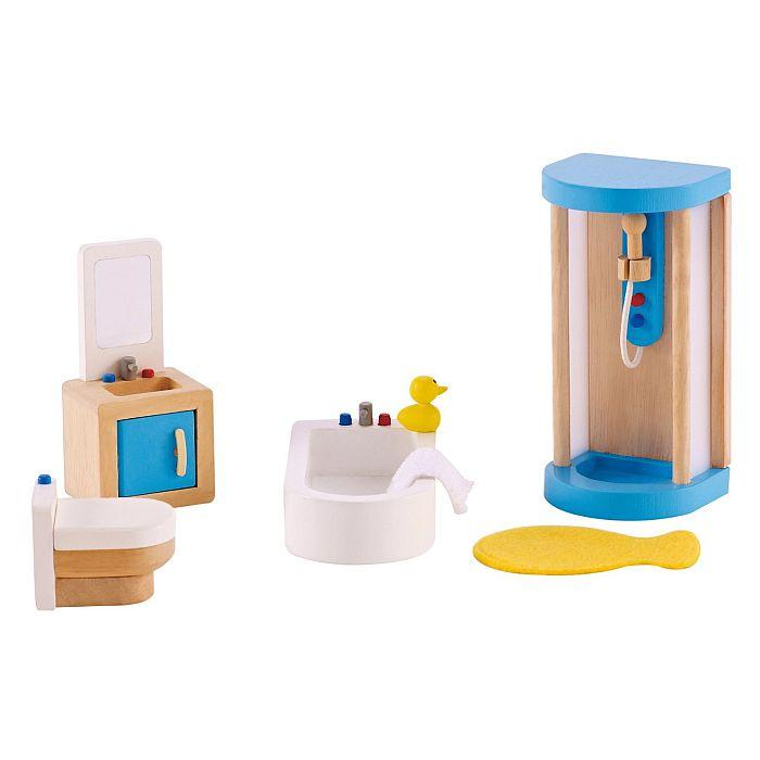 HAPE ריהוט לבית בובות אמבטיה E3451