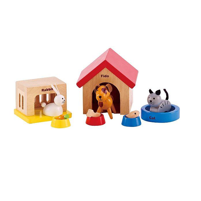 HAPE חיות מחמד לבית בובות E3455