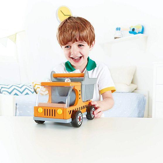 HAPE משאית עם ארגז נפתח E3013