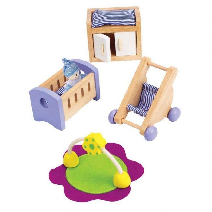 HAPE חדר תינוקות לבית בובות E3459