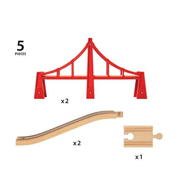 BRIO גשר כבלים כפול 33683