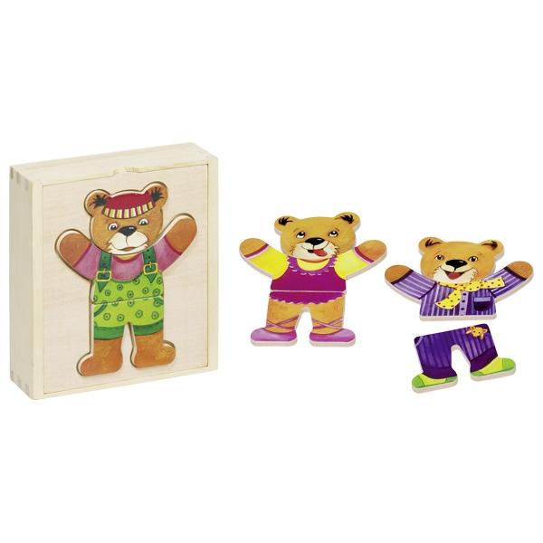 GOKI פאזל דובים מתלבשים 57801