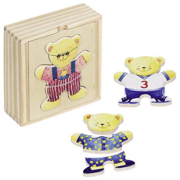 GOKI פאזל להלביש דובי חמוד 57910