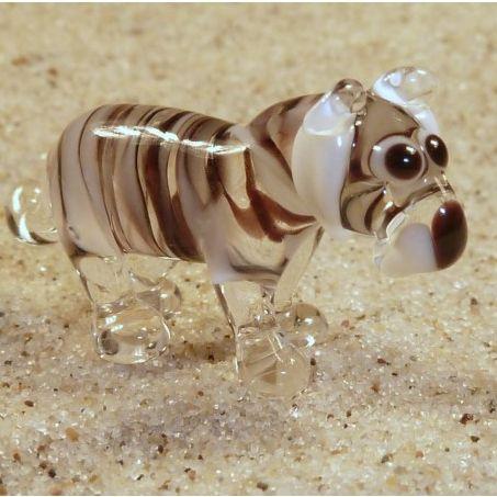 חיות מזכוכית טיגריס לבן 81013