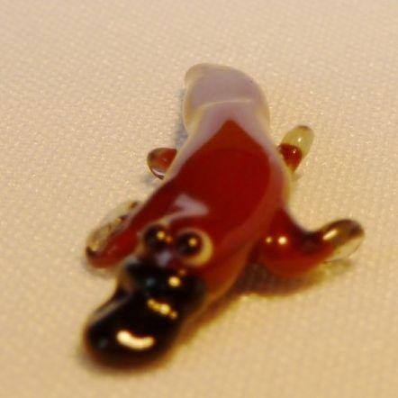 חיות מזכוכית ברווזן פלאטיפוס 81033