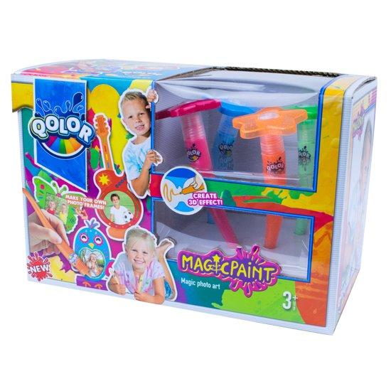 QOLOR צבעי קסם לנייר 500-16