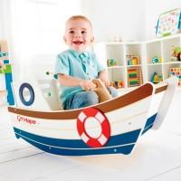 HAPE סירת עץ מתנועעת E0102