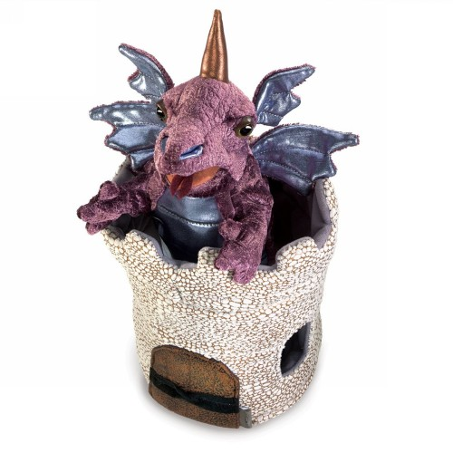 FOLKMANIS דרקון בטירה 3044