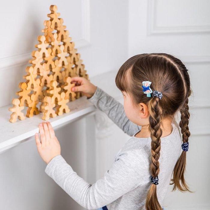 צעצועי עץ, פירמידת האנשים הקטנים 80800