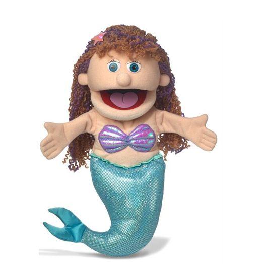 בובת תיאטרון בת ים פותחת את הפה 8821