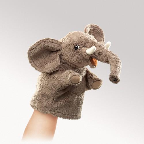 FOLKMANIS בובת כף יד פיל 2940