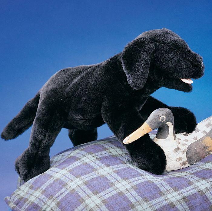 FOLKMANIS כלב לברדור שחור 2274