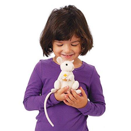 FOLKMANIS עכבר לבן עם גבינה 2925