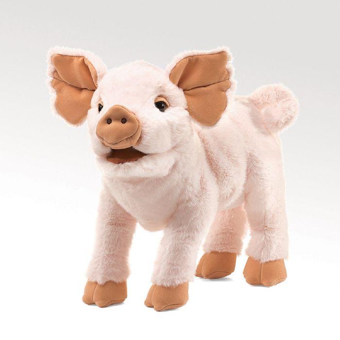 FOLKMANIS בובת חזיר 2949