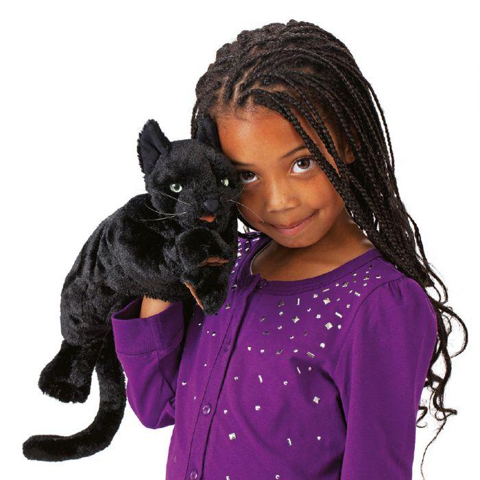 FOLKMANIS בובת תיאטרון חתול שחור 2987