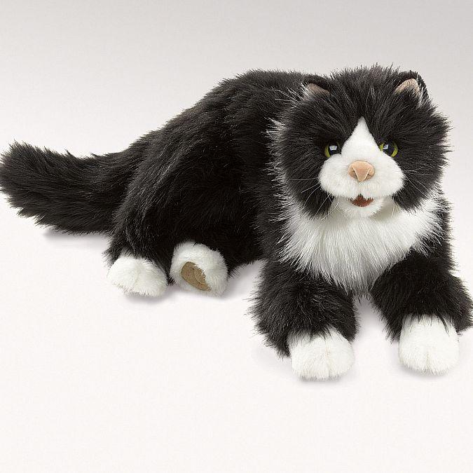 FOLKMANIS בובת תיאטרון חתול טוקסידו 2955