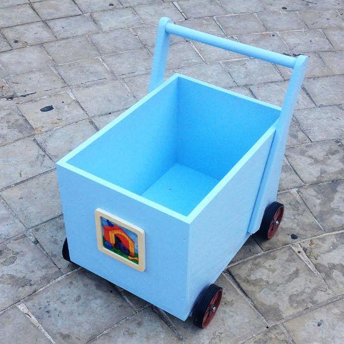 עגלה לאיחסון צעצועים BUBIMA 980080