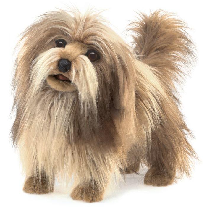FOLKMANIS בובת כלב שעיר 3104
