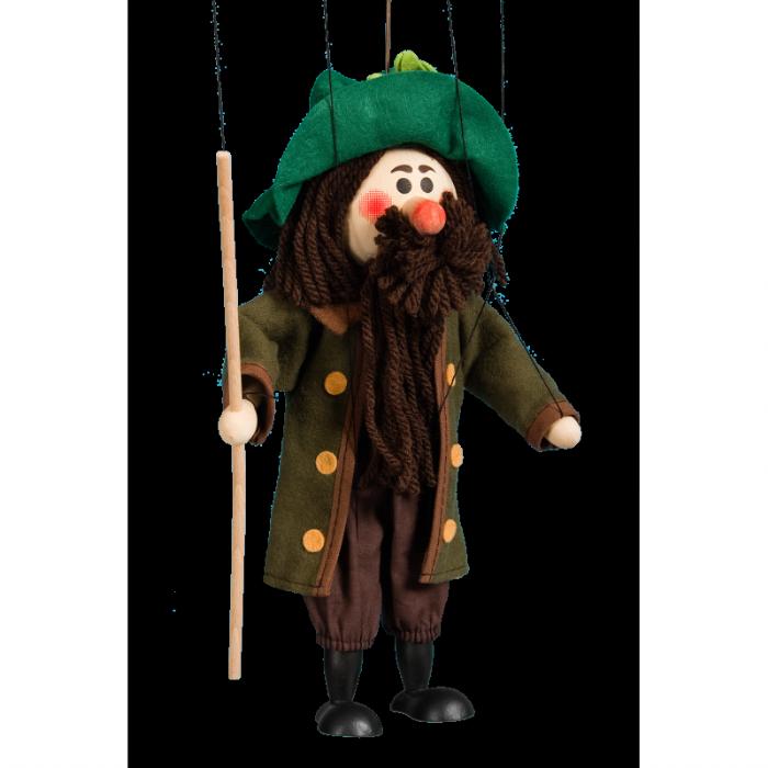 מריונטה איש עם שפם 1666